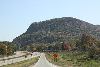 Dakota, Minnesota - Dakota along Interstate 90