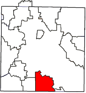 Lancaster Independent School District - Location of Lancaster ISD in Dallas County