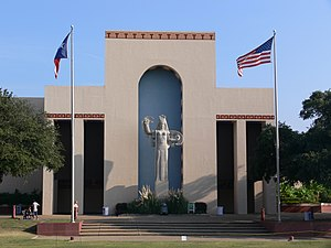 Fair Park - The Centennial Building in Fair Park