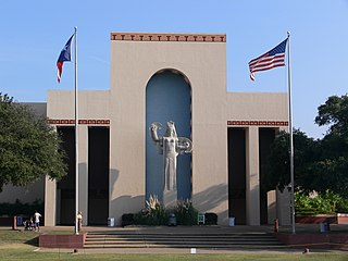 Fair Park recreational and educational complex in Dallas, Texas