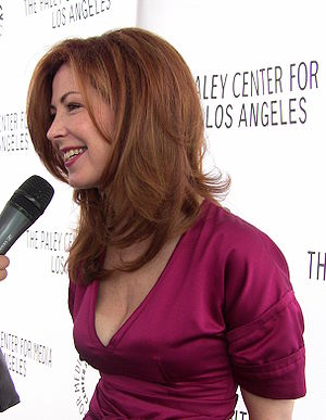 Actress Dana Delany at Desperate Housewives Pa...