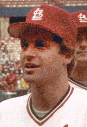 Dane Iorg - Iorg in 1983 with the Cardinals