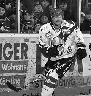 Daniel Nielsen Danish ice hockey player