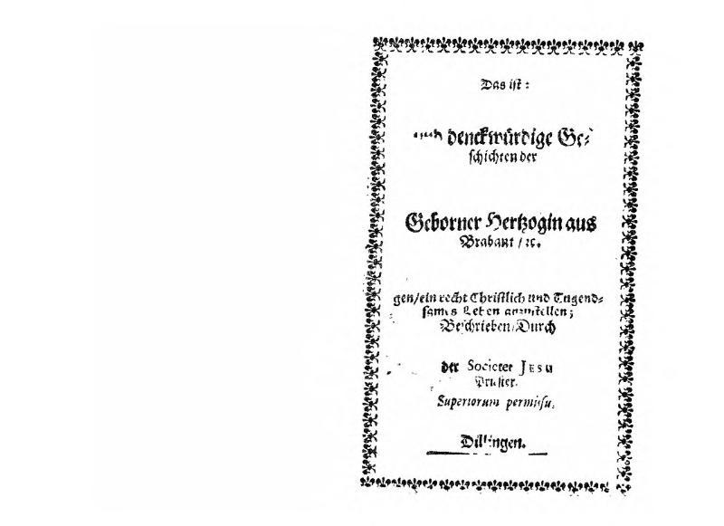 File:Das wunderliche Leben und die denckwürdigen Geschichten der heiligen Genovefa.djvu