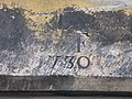 Date stone of 1730 on The Barracks, Main Street - geograph.org.uk - 1287660.jpg
