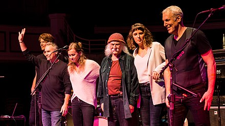 Crosby and The Sky Trails band, 2018 David Crosby - Carmel Palladium Indianapolis - Saturday 4th November 2017 DavidCrosbyCarmel041117-34 (38289124131).jpg