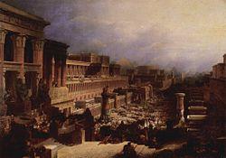 David Roberts: The Israelites Leaving Egypt