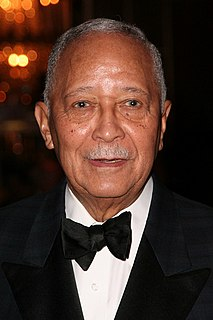 David Dinkins former mayor of New York City