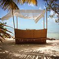Daybed at Cayo Espanto Private Island.JPG