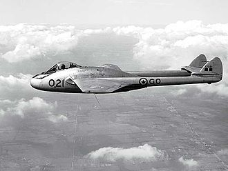 De Havilland Vampire - Royal Canadian Air Force Vampire
