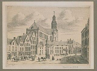 De Veemarkt en de Sint-Pauluskerk