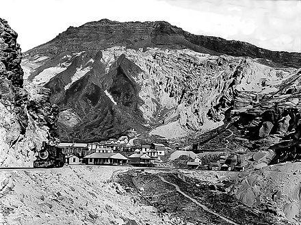 Death Valley Railroad bei Ryan