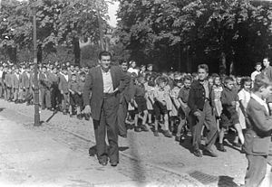 Refugees of the Greek Civil War - Children refugees in Romania in 1949