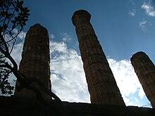 Colonne del tempio dedicato ad Apollo a Delfi
