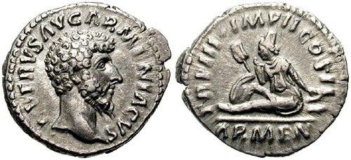 Denarius-Lucius Verus-Arenia-s1537