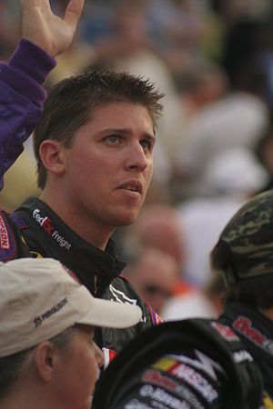 NASCAR driver Denny Hamlin in August 2007 at B...