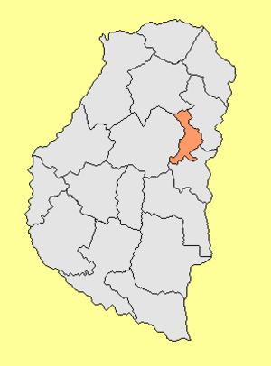 San Salvador Department, Entre Ríos - Image: Departamento San Salvador (Entre Ríos Argentina)