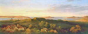 Rugard - Der Rugard auf Rügen by Karl Friedrich Schinkel, 1821