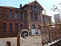 Derelict school buildings, Broomloan Road, Govan - geograph.org.uk - 1735132.jpg