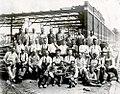 Des briqueteurs sur le chantier de l Auditorium de Verdun 1939.jpg