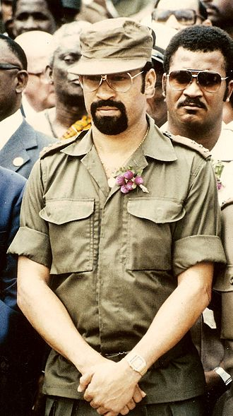 1980 Surinamese coup d'état - Bouterse as military leader in 1985.
