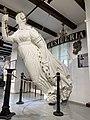 Desideria, fregatt 1851, restaurert gallionsfigur (Norwegian ship, frigate, carved wooden figurehead, Bernadine Eugenie Désirée Clary) etc Marinemuseet Naval Museum Horten Norway 2021-09-03 IMG 0682.jpg