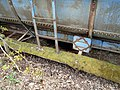 Detail from abandoned PEI Railway tanker car, Sherwood, PEI (42371067671).jpg