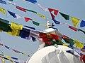 Detail of Boudha Stupa - Boudhanath - Outside Kathmandu - Nepal - 06 (13944691236).jpg