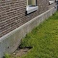 Detail voorgevel- plinten (Bentheimer zandsteen) - Schoonebeek - 20378994 - RCE.jpg