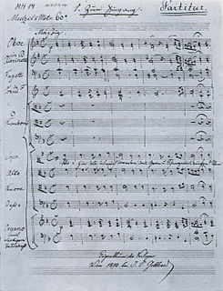 <i>Deutsche Messe</i> (Schubert) composition by Franz Schubert