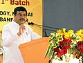 Dharmendra Pradhan addressing at the inauguration of the Academic Session of the 1st Batch of ICT Mumbai – Indian Oil Odisha Campus, in Bhubaneswar.JPG