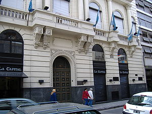 La Capital - Offices of La Capital on Sarmiento St., Rosario