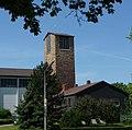 Die protestantische Johanneskirche wurde 1958 fertiggestellt. - panoramio.jpg