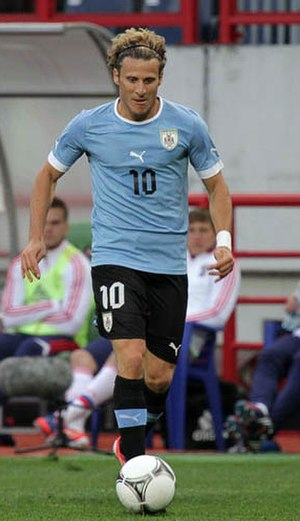 Football in Uruguay - Diego Forlán of Uruguay, the best players in 2010