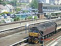 Diesel Pulling Railcars at Llandudno Junction - panoramio.jpg