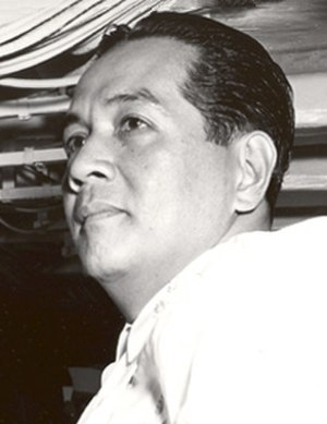 Philippine presidential election, 1965 - Image: Diosdado Macapagal USS Oklahoma City 1962 cropped