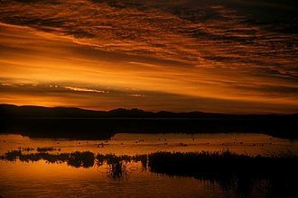 Tule Lake National Wildlife Refuge - Image: Discovery Marsh Tule Lake NWR