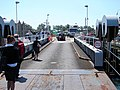 Disembarking from the ferry at Yarmouth - geograph.org.uk - 833523.jpg