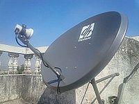 DishHome satellite dish