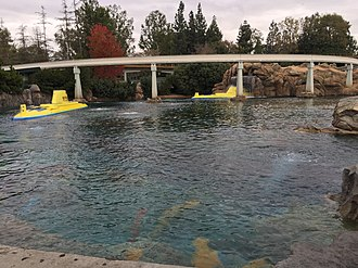 Finding Nemo Submarine Voyage - Image: Disneyland 2 2015 01 11