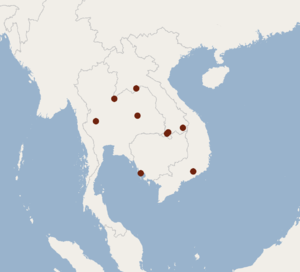 Distribution of Murina walstoni.png