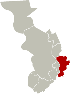 District of Antwerp in Flemish Region, Belgium