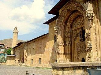 "Medicine in the medieval Islamic world - Hospital Building (""darüşşifa"") of Divriği Great Mosque, Seljuq period, 13th century, Turkey"