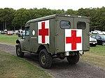 Dodge M43B1 Ambulance, rear oblique view - Collings Foundation - Massachusetts - DSC07125.jpg