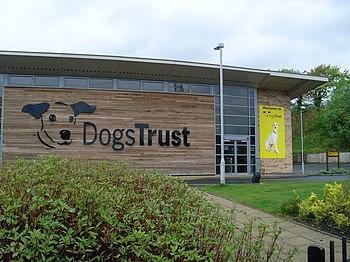 English: Dogs Trust, Glasgow Located on Daldow...