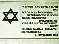 Dolny Kubin Pamatna tabula na vojnove roky.jpg