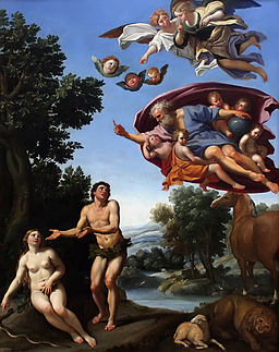 Domenichino adam eve