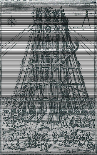 Renaissance technology - Relocation of the Vatican Obelisk, Rome, by Domenico Fontana (1586)