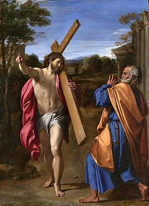Annibale Carracci, Domine, quo vadis?, acquire...