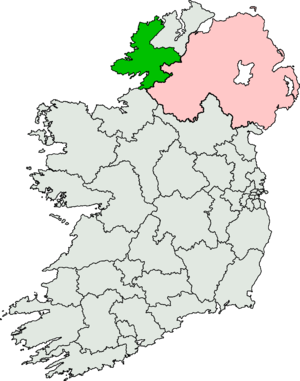 Donegal South-West by-election, 2010 - Image: Donegal South West (Dáil Éireann constituency)